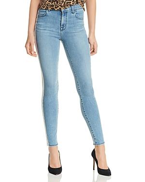 J Brand Alana High Rise Skinny Jeans in Technicolor