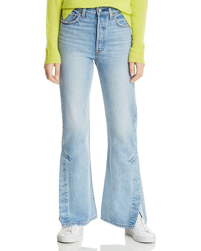 8e3f47da1d5737 Levi's Rib Cage Split-Flare Jeans in Dazed and Confused | Bloomingdale's