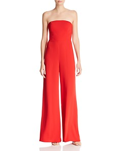 Amanda Uprichard - Mandy Strapless Jumpsuit