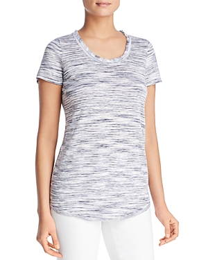 Nic And Zoe  NIC+ZOE FADE OUT SCOOP NECK TEE