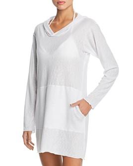 Peixoto - Beach Hooded Dress Swim Cover-Up