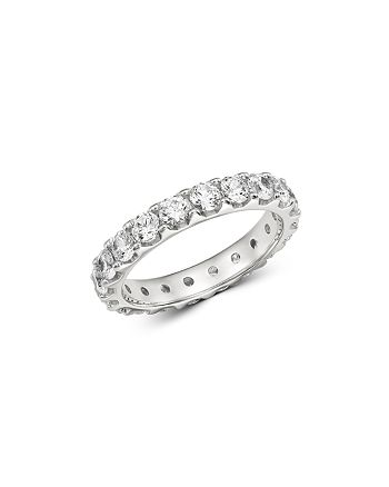 Bloomingdale's - Diamond Eternity Band in 14K White Gold, 2.0 ct. t.w. - 100% Exclusive