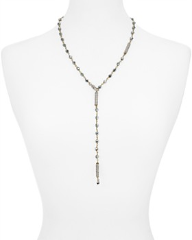 Roni Blanshay - Adjustable Lariat Necklace, 20""
