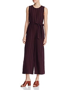 Eileen Fisher - Cropped Wide-Leg Sleeveless Jumpsuit - 100% Exclusive