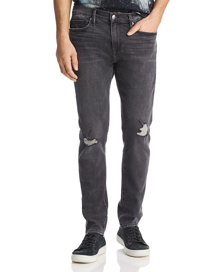 FRAME - L'Homme Skinny Fit Jeans in Verne