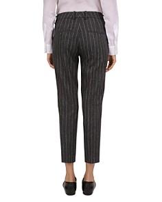 The Kooples - Pinstripe Slim Ankle Pants