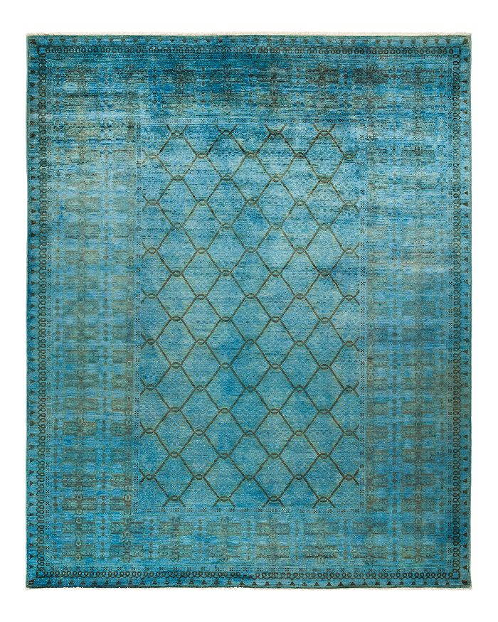 """Solo Rugs - Vibrance Collection Alexios Area Rug, 8'10"""" x 11'6"""""""