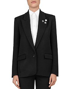 The Kooples - Single-Button Peak-Lapel Blazer