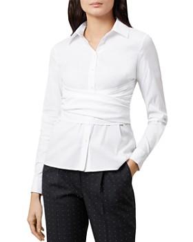 HOBBS LONDON - Twitchill Tie-Waist Shirt