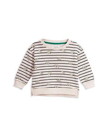 Sovereign Code - Girls' Stripe & Koala Print Sweatshirt - Little Kid, Big Kid