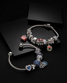 Pandora - Sterling Silver & Cubic Zirconia Dazzling Fireworks Charm