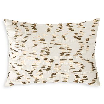 "Michael Aram - Watermark Embroidered & Beaded Decorative Pillow, 14"" x 20"""