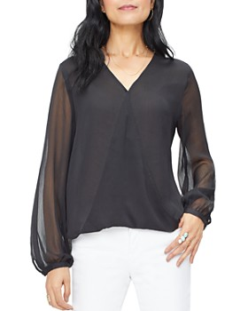 NYDJ - V-Neck Crossover Top