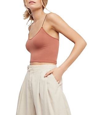 Skinny Strap Cropped Camisole