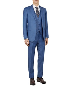 e0f7cbd37 Ted Baker - Kernal Sharkskin Slim Fit Suit ...