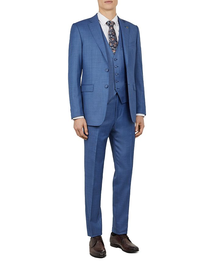 Ted Baker - Kernal Sharkskin Slim Fit Suit