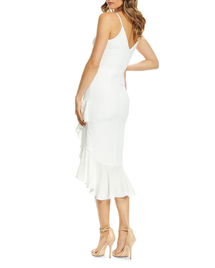 9fa67f86528 Dress the Population - Wendy Ruffled Midi Dress