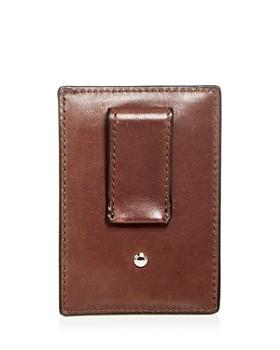 COACH - Leather Money Clip Card Case