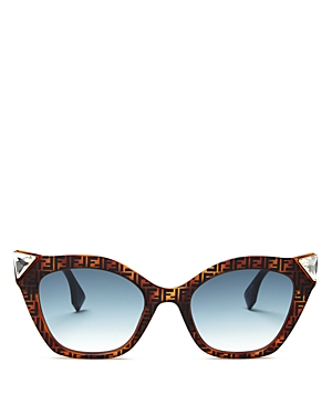 Fendi Women\\\'s Embellished Logo Cat Eye Sunglasses, 52mm-Jewelry & Accessories