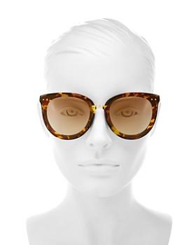 Bottega Veneta - Women's Cat Eye Sunglasses, 62mm