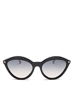 Tom Ford - Women's Cat Eye Sunglasses, 57mm