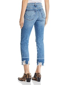 Hudson - Jessi Boyfriend Jeans in Overshadow