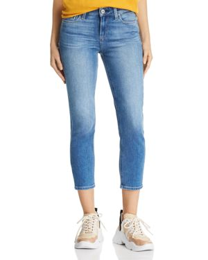 Paige Skyline Crop Skinny Jeans in Renzo - 100% Exclusive