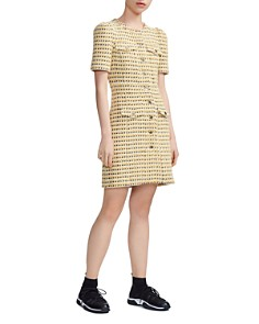 Maje - Rill Tweed Shirt Dress
