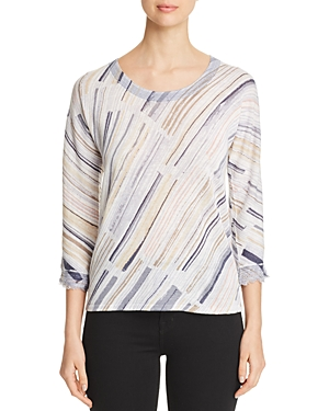 Nic And Zoe Knits NIC+ZOE PRINTED KNIT TOP