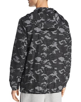 BLACKBARRETT by Neil Barrett - Camouflage Mesh-Print Jacket