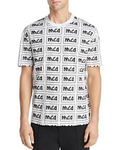 McQ Alexander McQueen - Allover Logo-Print Tee