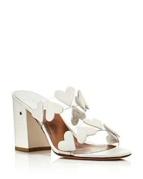 Laurence Dacade - Women's Tara Heart Block Heel Sandals