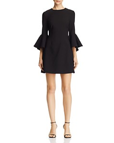 LIKELY - Mallory Bell-Sleeve Mini Dress