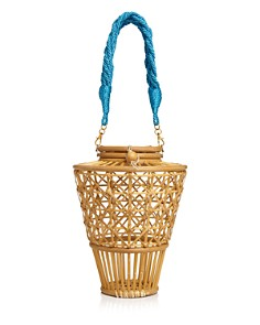 SERPUI - Julia Bamboo Basket Bag