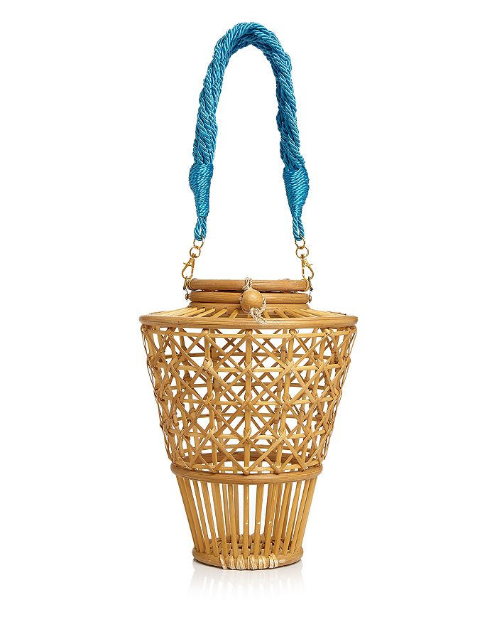 SERPUI - Julia Bamboo Basket Bag