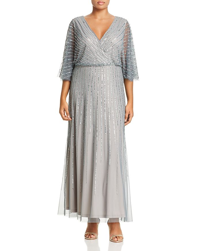 Adrianna Papell Plus - Beaded Gown