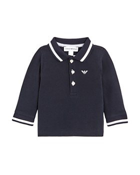 24969ce4 Armani - Boy's Long Sleeve Polo Shirt - Baby