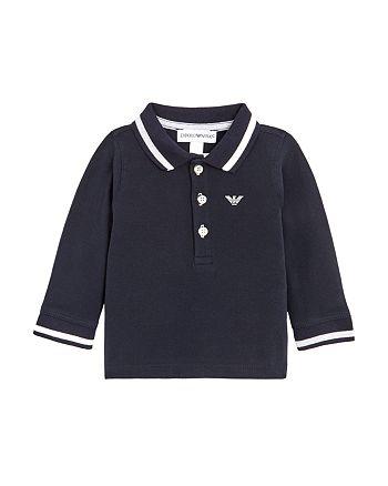 Armani - Boy's Long Sleeve Polo Shirt - Baby