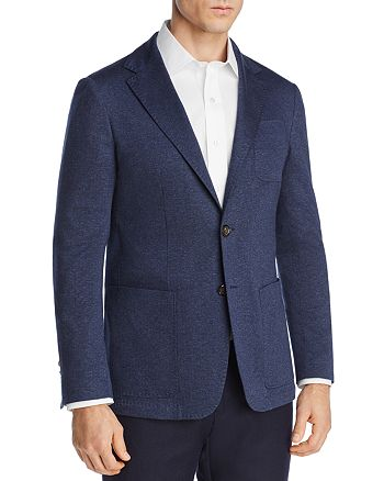 Canali - Chevron Stretch-Jersey Regular Fit Soft Jacket
