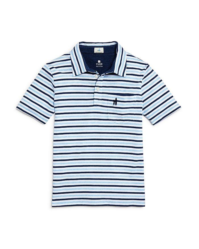 a2c9159a Johnnie-O Boys' Palmetto Wide-Stripe Polo Shirt - Little Kid, Big ...