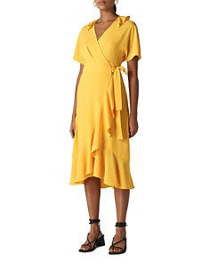 Whistles - Abigail Ruffled Wrap Dress