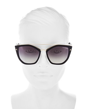 1764ed4fd2 ... 55mm Tom Ford - Women s Dahlia Geometric Sunglasses