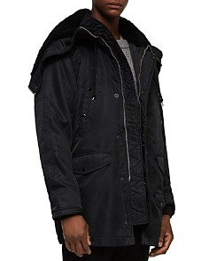ALLSAINTS - Garth Parka with Shearling?-Lined Hood