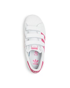 Adidas - Girls' Classic Superstar Low-Top Sneakers - Toddler, Little Kid