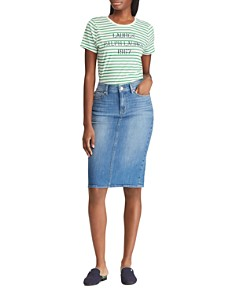 Ralph Lauren - Denim Pencil Skirt