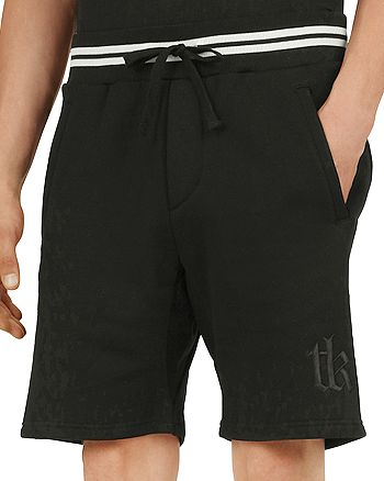 The Kooples - Embroidered Fleece Shorts