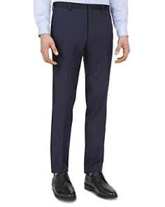 The Kooples - Smocking Chic Wool Slim Fit Trousers