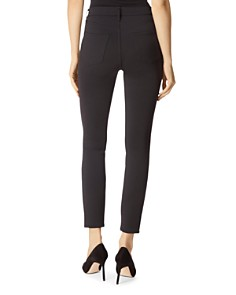 J Brand - Alana High Rise Skinny Jeans in Black
