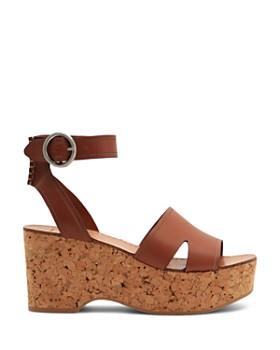 Dolce Vita - Women's Linda Leather & Cork Platform Sandals