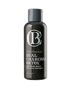 Clarks Botanicals - Dual Charcoal Detox Brightening Mask+ Exfoliating Treatment